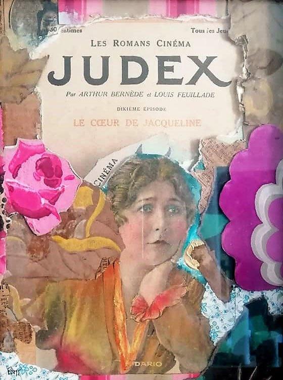 judex - encadré - prix : 150€